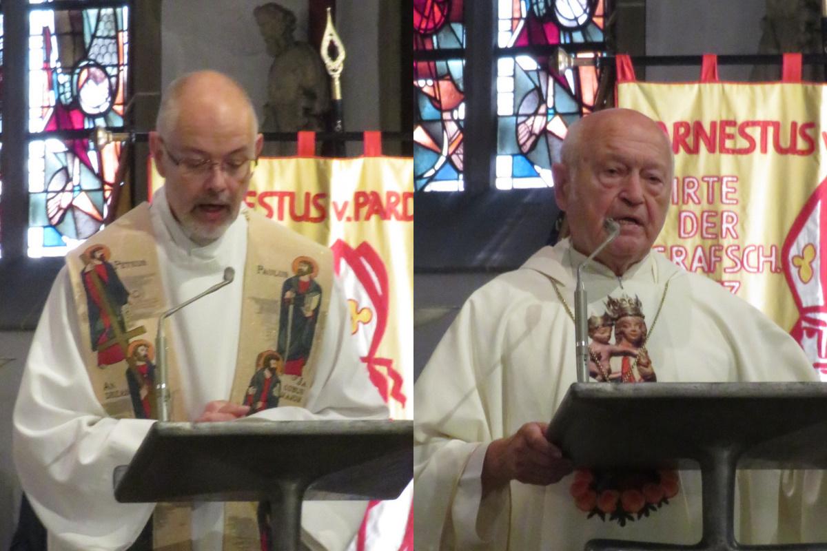 Martin Karras und Franz Jung